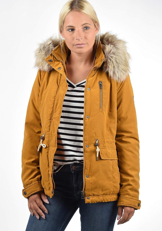 3c264c3f01c VERO MODA Fura Women's Winter Jacket Outdoor Jacket With Fur Hood | eBay