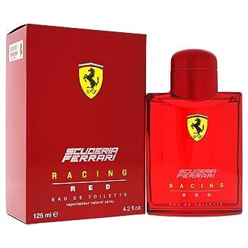 ac14a18ac Ferrari Scuderia Ferrari Racing Red Eau De Toilette Spray 4.2 Oz   125 Ml  for Men By Ferrari