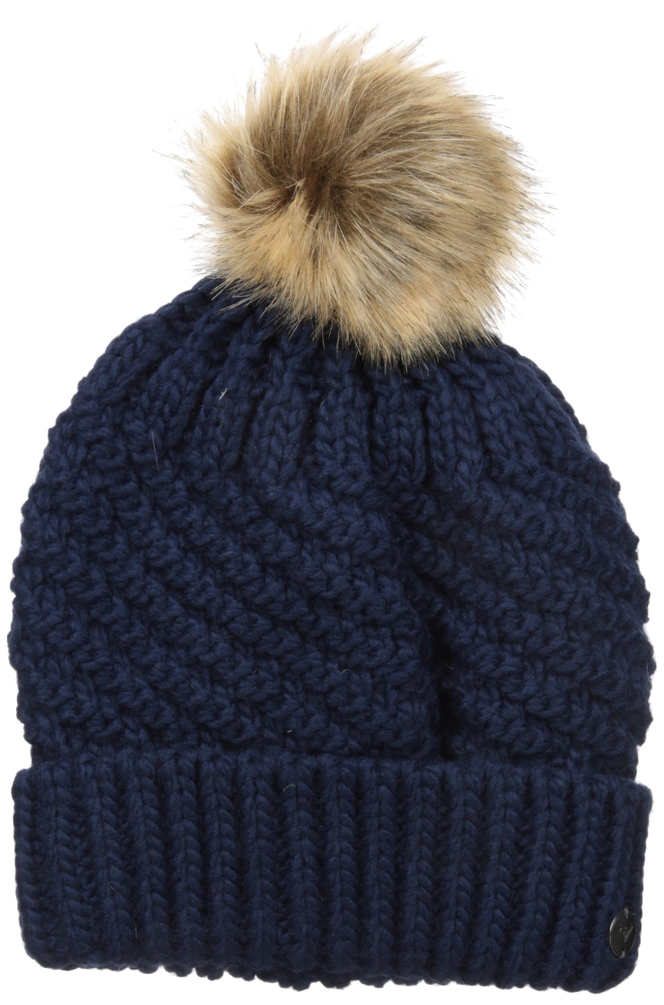 Roxy Snow Junior's Blizzard Beanie, Peacoat, One Size