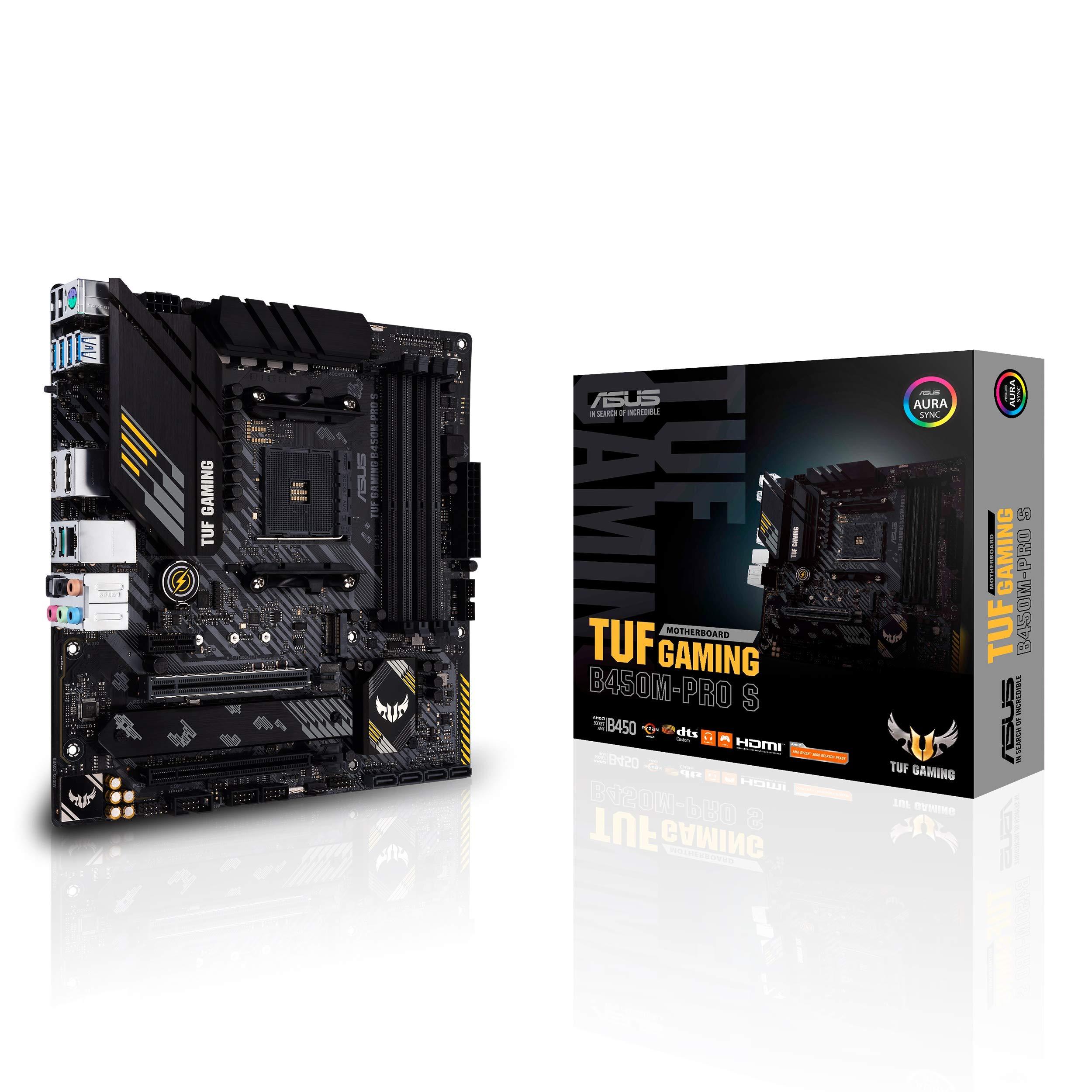 Motherboard ASUS TUF Gaming B450M-PRO S Socket AM4