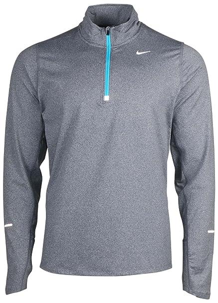 72c33d55 Amazon.com: Nike Men's Element Half Zip Gamma Blue/Reflective Silver Size  Small: Sports & Outdoors