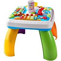 Fisher-Price Tavolino attività della Città con 3 Livelli di Gioco Che Crescono con Il Bambino, dai 6 Mesi, DRH33