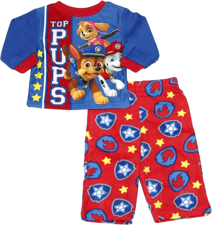 Pup Blue, 18M Nickelodeon Baby Boys Paw Patrol 2-Piece Fleece Pajama Set