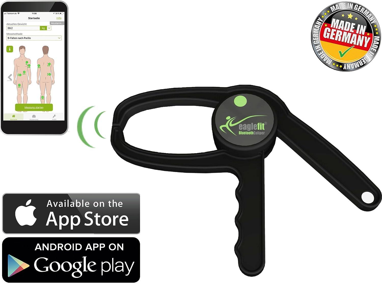 eaglefit Bluetooth Caliper - Das erste digitale Körperfett Messgerät ...