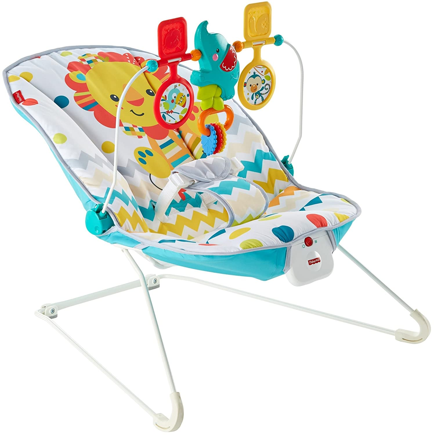 Fisher-Price Deluxe Bouncer Colorful Carnival