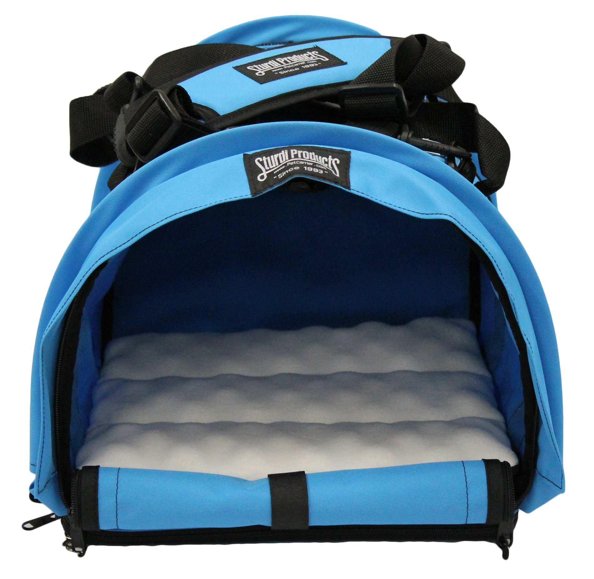 Sturdi Products SturdiBag Cube Pet Carrier, Large, Blue Jay