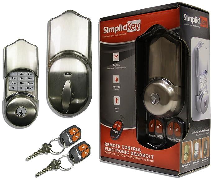 simplicikey srced-sn-2 mando a distancia electrónica cerrojo cerradura de la puerta: Amazon.es: Bricolaje y herramientas
