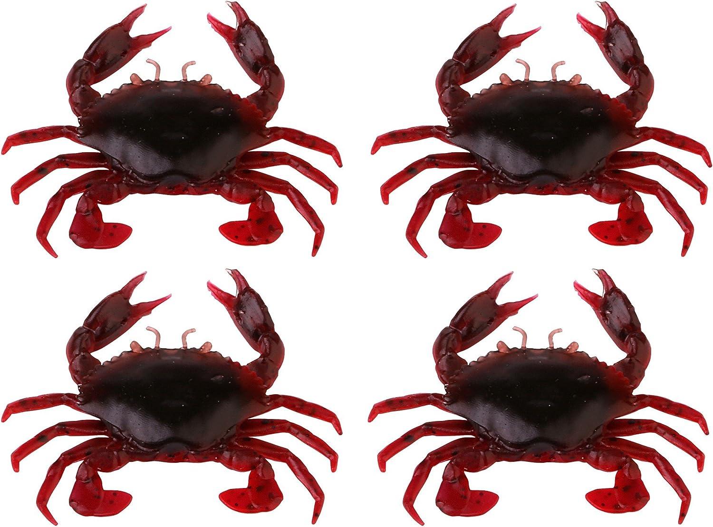 Savage Gear LB 3D Manic Crab Orange Belly Krebs Gummiköder fürs Meeresangeln