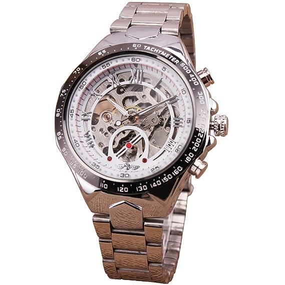 Los más vendidos de los hombres de la Militar ruso es el esqueleto mecánico reloj de