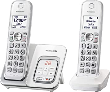 Panasonic kx-tgd532 W teléfono inalámbrico con contestador automático – 2 teléfonos inalámbricos (Certificado Reformado): Amazon.es: Electrónica