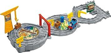 Thomas /& Friends FGR22 Super Station Thomas the Tank Engine Jouet Train Set Un