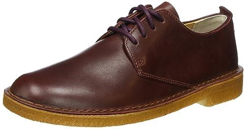 Clarks Desert London - Zapatos con cordones hombre, color marrón, talla 41
