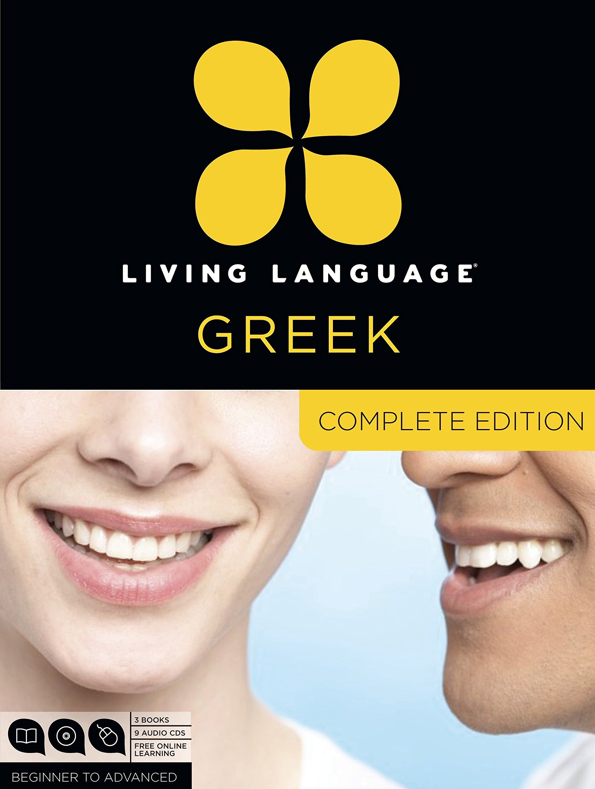Living Language Greek, Complete Edition: Beginner through advanced course, including 3 coursebooks, 9 audio CDs, and free online learning by Living Language