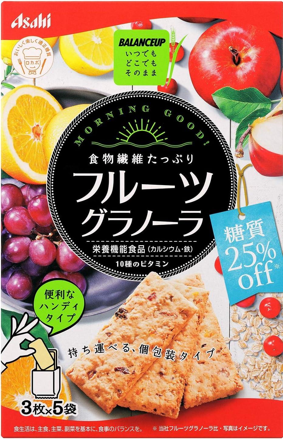 【アサヒグループ食品】バランスアップフルーツグラノーラ糖質25% オフ 150g