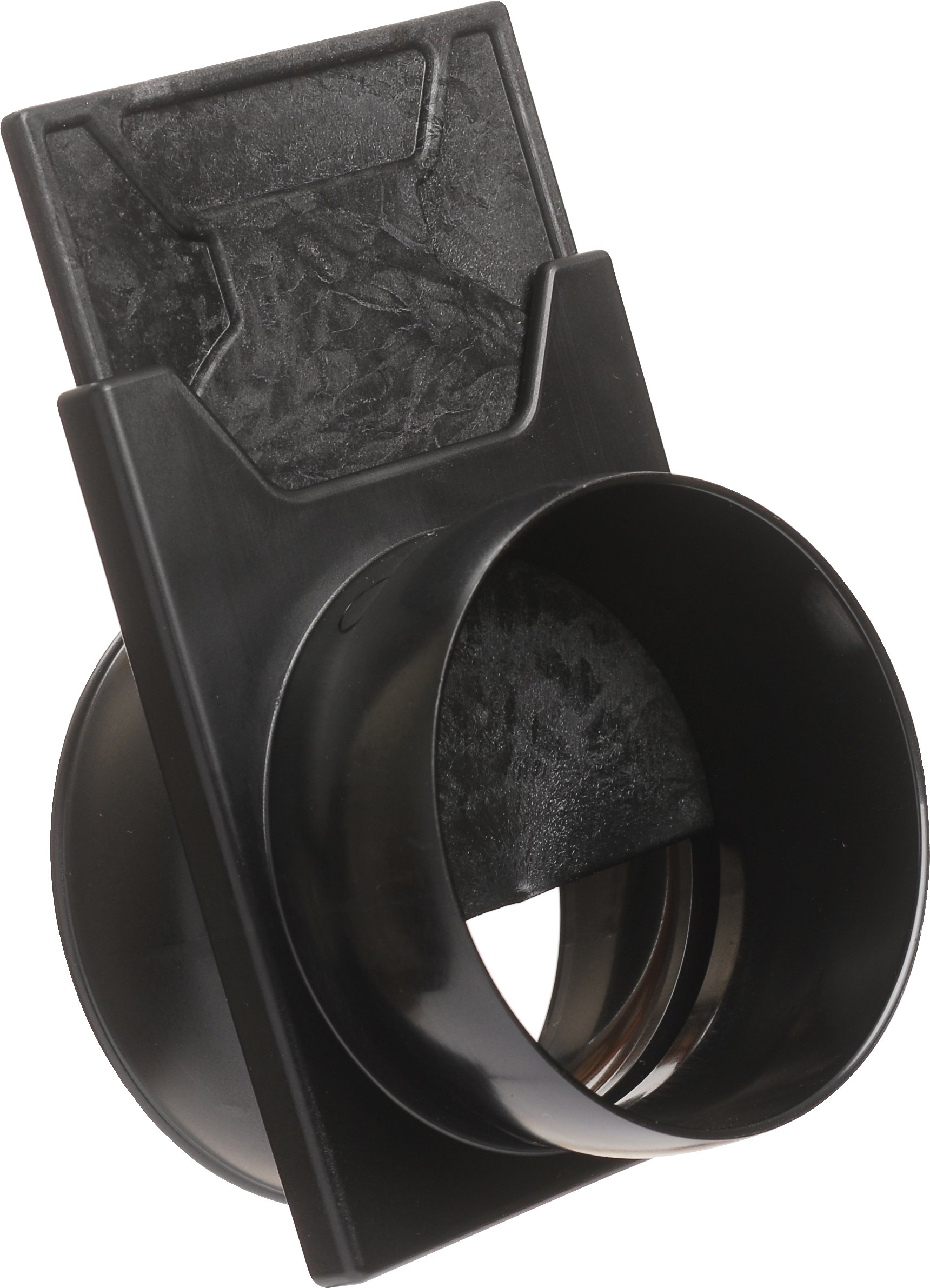 Loc-Line Anti-Static Vacuum Hose Component, Black Acetal Copolymer, Slide Valve, 2-1/2'' Hose ID