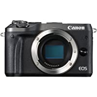 Canon EOS M6 body only Compact System Camera(M6BB) 3 Inch Display,Black (Australian warranty)