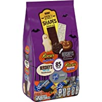 HERSHEY'S Halloween Chocolate Candy Variety Mix (HERSHEY'S, REESE'S, & YORK) Spooky Shapes Assortment, 43.8 oz