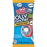 JOLLY RANCHER Filled Candy Lollipop, Triple Pop, 18 Count