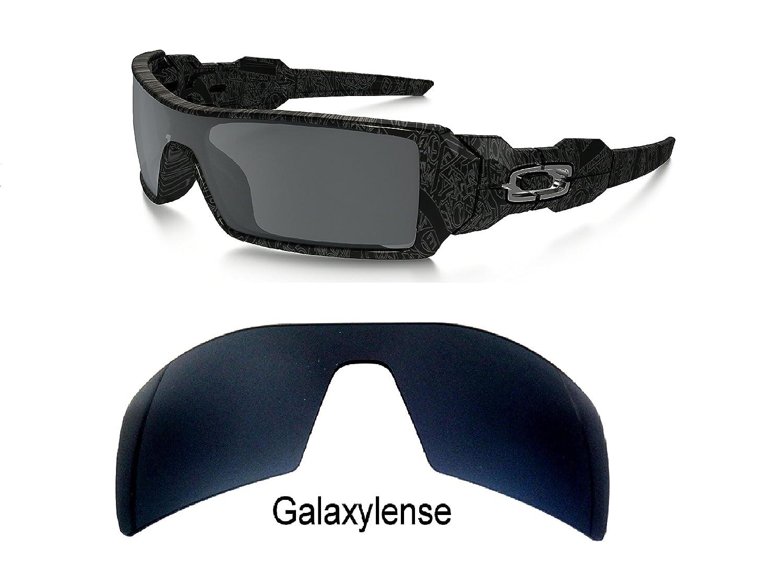 487d6fbe90 Mejor galaxylense Hombre Lentes De Repuesto Para Oakley Torre Perforación  Petrolera Gafas De Sol Negro Polarizado