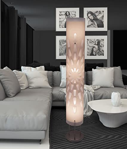White floor lamp HBK007L modern contemporary art decor