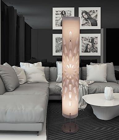 White floor lamp hbk007l modern contemporary art decor for living white floor lamp hbk007l modern contemporary art decor for living room bedroom corner aloadofball Images