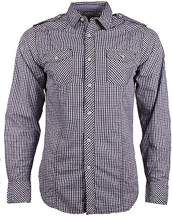 salsa jeans - Camisa casual - para hombre: Amazon.es: Ropa y accesorios