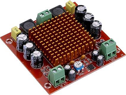 Yeeco 150W Mono Canal Audio Poder Amplificador AMPERIO Tablero DC 12-26V Digital Estéreo Amperio