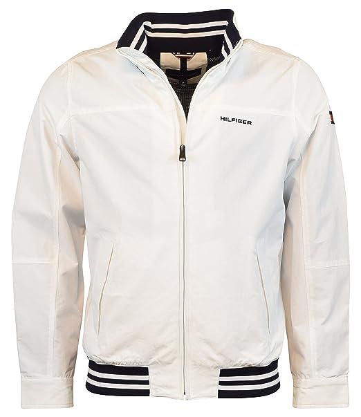 2d2d85d7e47255 Tommy Hilfiger Men s Nylon Regatta Yacht Jacket Windbreaker  Amazon ...