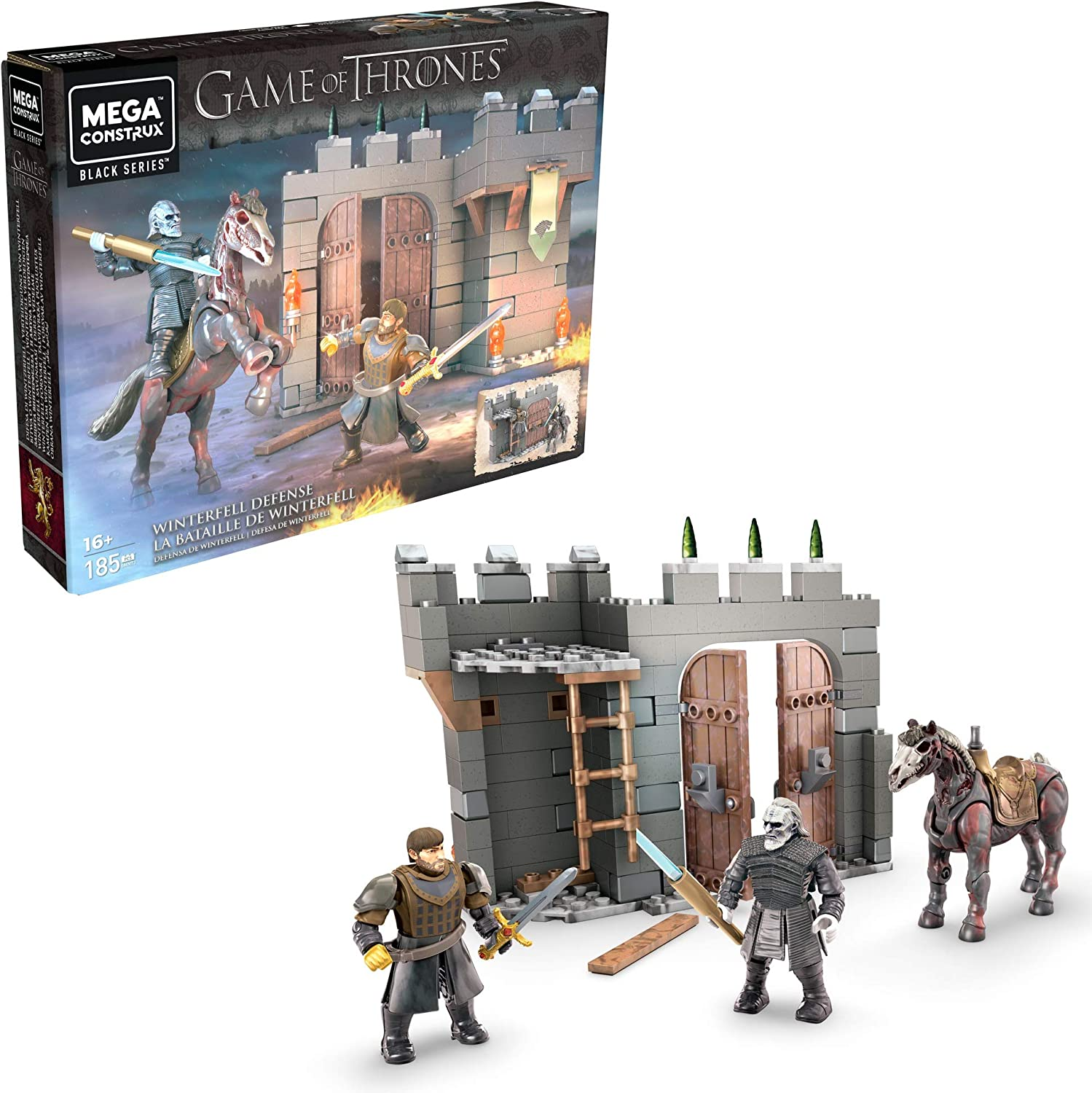 Construx Game Of Thrones Winterfell Building Set Toys Games