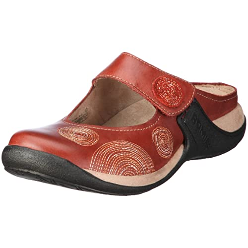f622f8c8c0e47 Romika Milla 20 Clogs And Mules Womens Red Rot/paprika Size: 3.5 (36