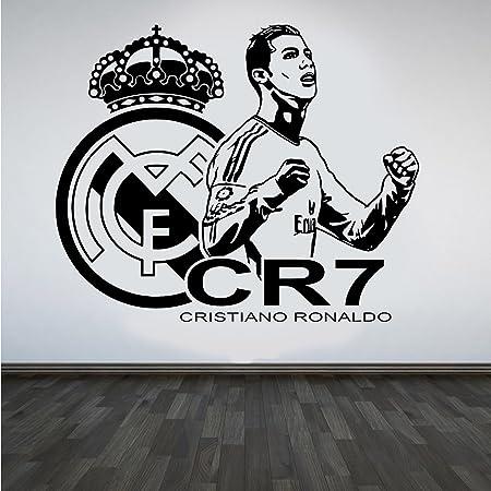Cristiano ronaldo cr7 vinyl wall sticker real madrid fc footballer cristiano ronaldo cr7 vinyl wall sticker real madrid fc footballer mural decal art voltagebd Choice Image