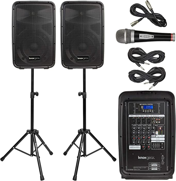 Top 9 Portable Pa Systems