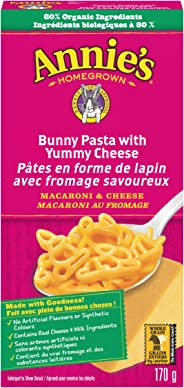 Annie's Homegrown Bunny Pasta Yummy Cheese Macaroni & Cheese, 170 Grams