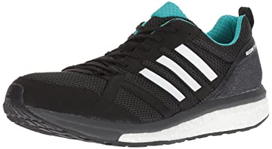 competitive price 5a1d9 4b490 adidas Mens Adizero Tempo 9 Running Shoe, Blackhi-res AquaMystery