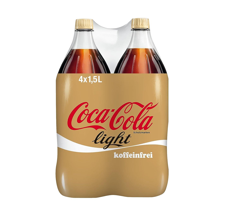 Coca-Cola Light koffeinfrei/Erfrischendes Softgetränk in praktischen ...