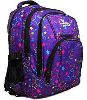 High Quality Large Chervi Womens Girls Stars College School Uni Travel  Backpack Bag ce901809867da