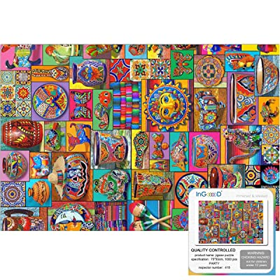 Ingooood- Jigsaw puzzle-2019 New Arrival - Imagination Series – Party - 1000 Pieces for Adult Graduation Valentine's Day Gift