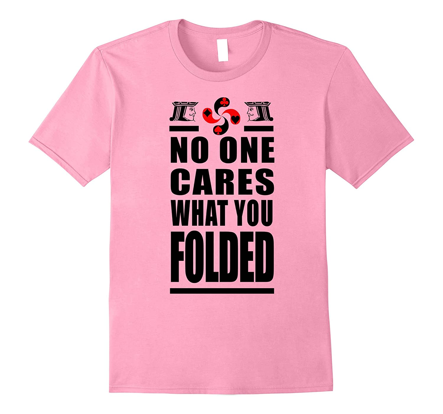 Funny Poker Shirt  Texas Holdem Playing Cards Game Gifts-TJ