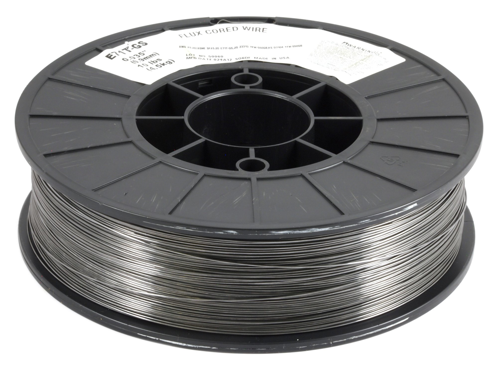 Forney 42303 Flux Core Mig Wire, Mild Steel E71TGS.035-Diameter, 10-Pound Spool by Forney