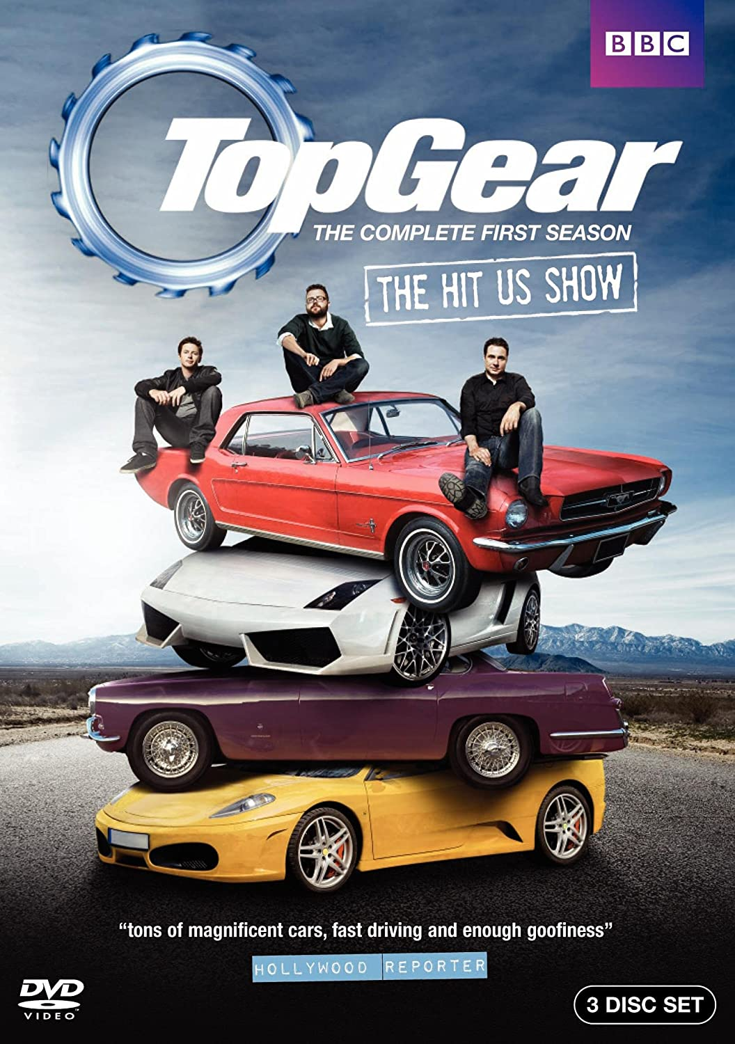 Top Gear Usa The Complete First Season Adam Ferrara