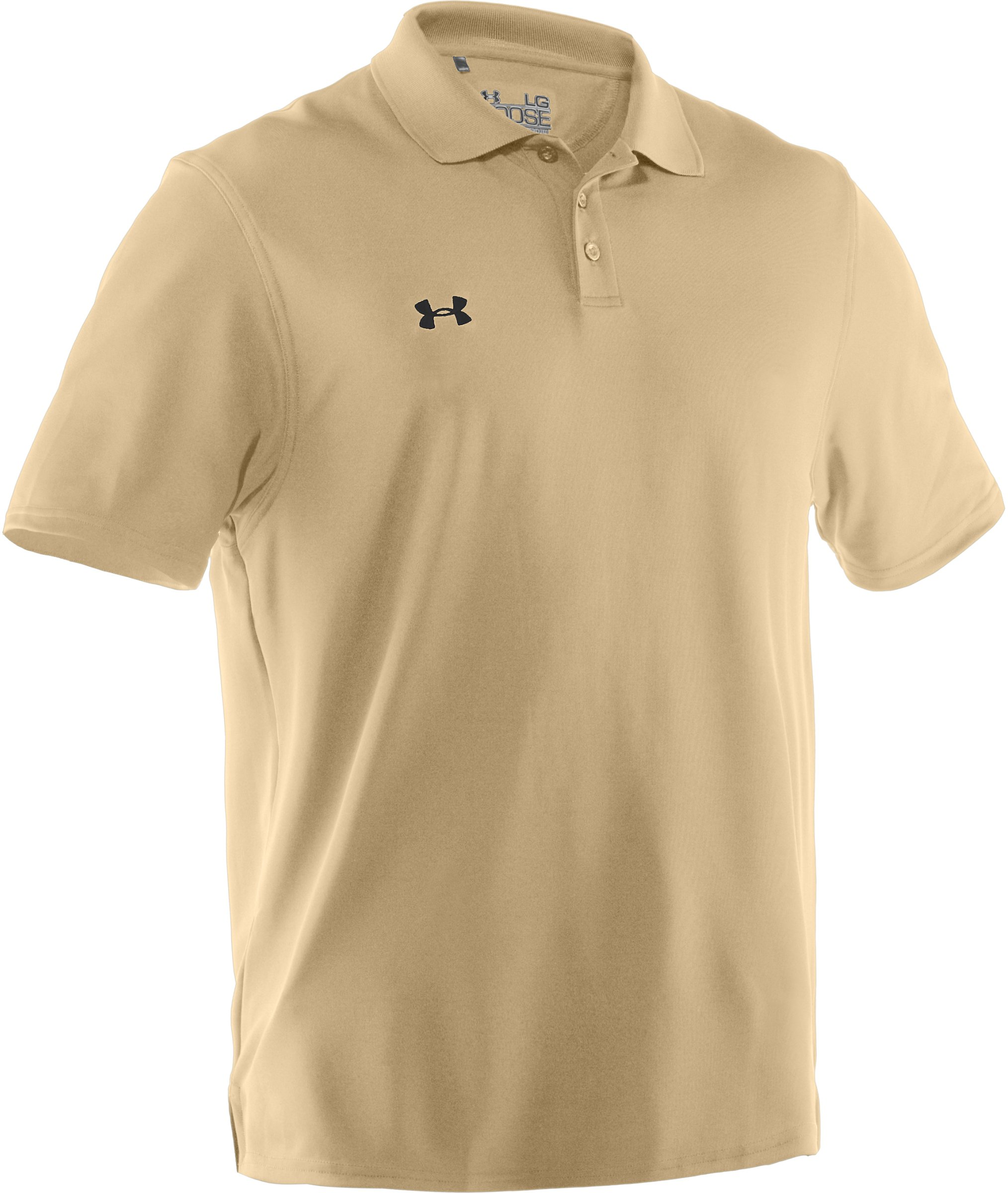 Under Armour Team Performance Polo Vegas Gold/Black Small
