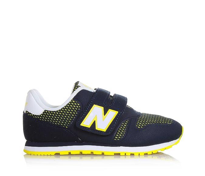 New Balance KA373NRY, Sneaker Unisex Bambini,Blu NavyYellow