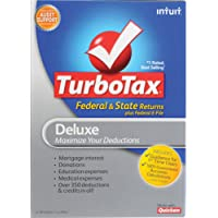 TurboTax Deluxe with State2012