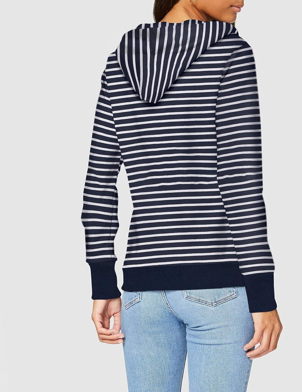 Haut Femme Superdry Serif Floral Brodé bouclage hoodie