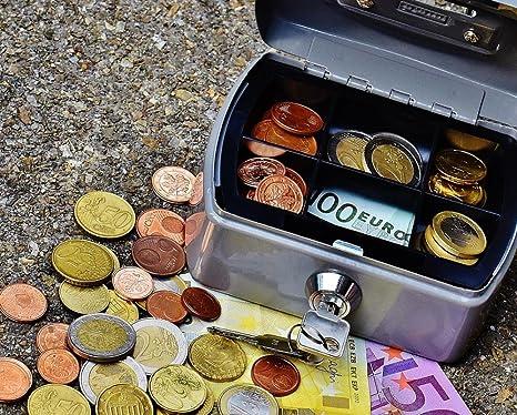 LAMINADO 30 x 24 Póster: Cashbox dinero moneda dinero en efectivo caja caja de finanzas dinero Euro Efectivo Y equivalentes efectivo caja: Amazon.es: Hogar