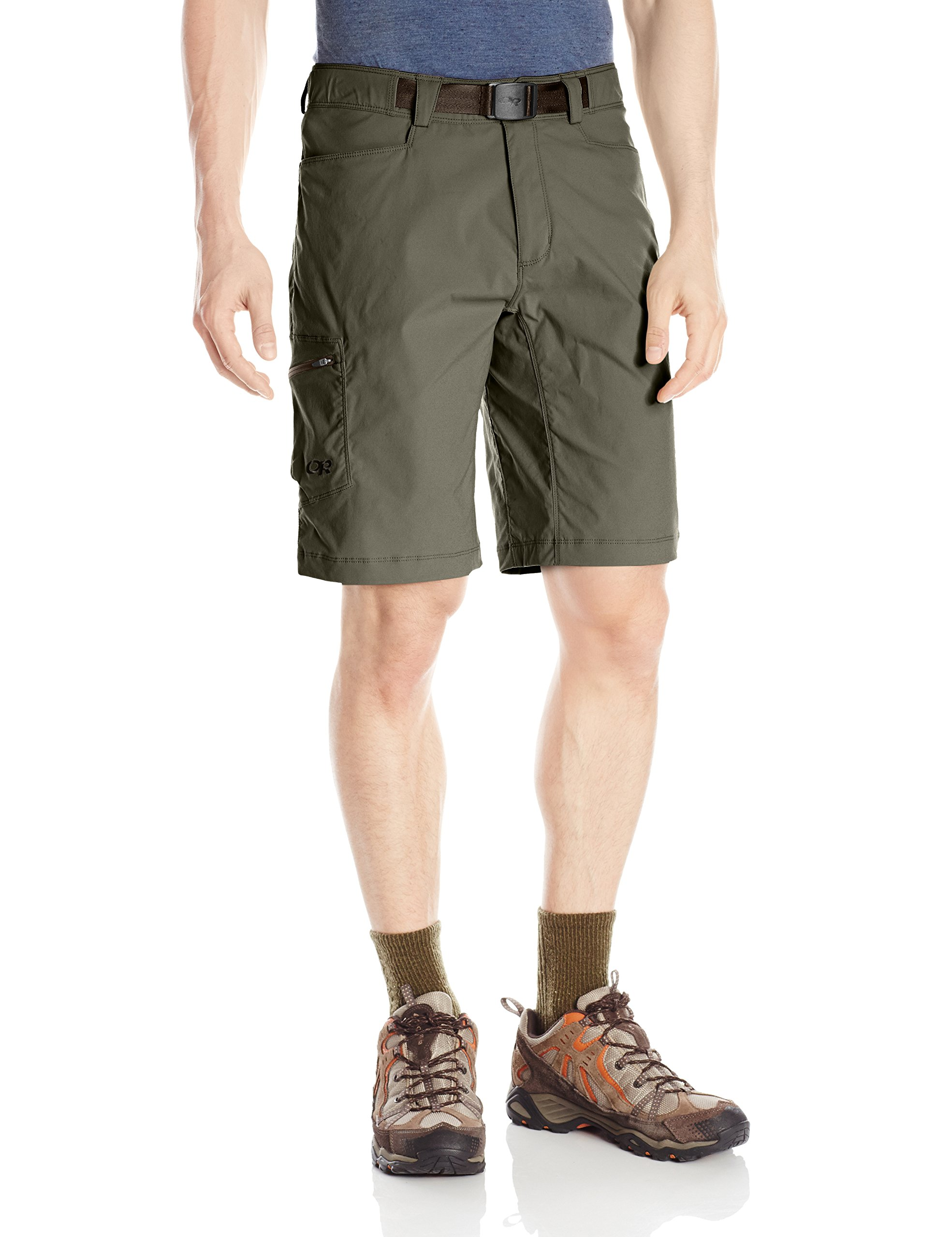 Outdoor Research Men's Equinox Shorts, Mushroom, 38 by Outdoor Research
