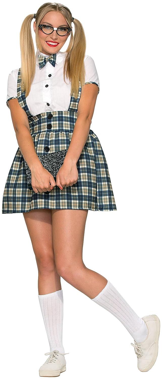 714ad6e6b396 Amazon.com: Forum Novelties Women's 50's Nerd Girl Costume: Clothing