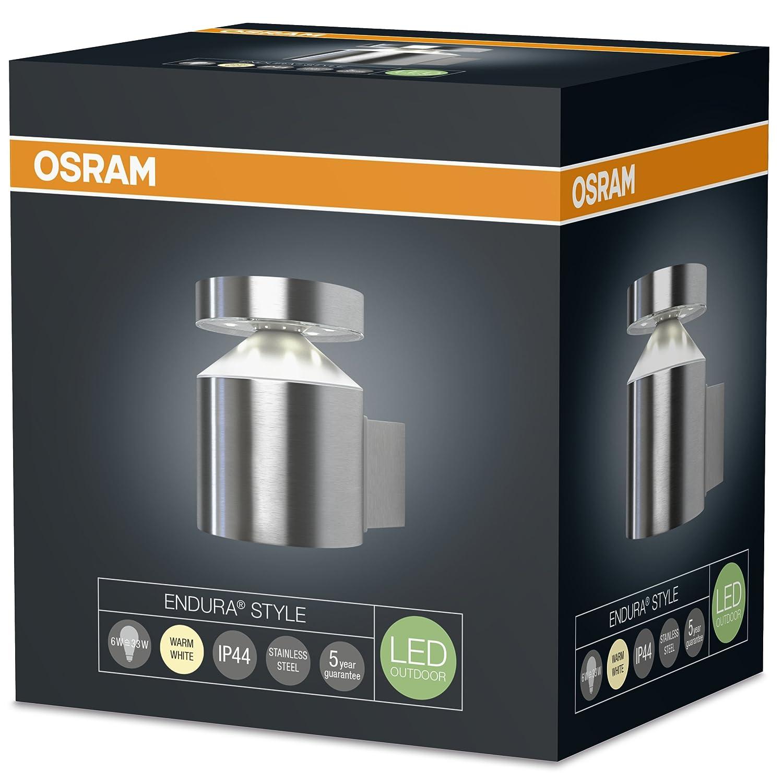 Argento Osram Endura Style Cylinder Ceiling Plafoniera 6 W