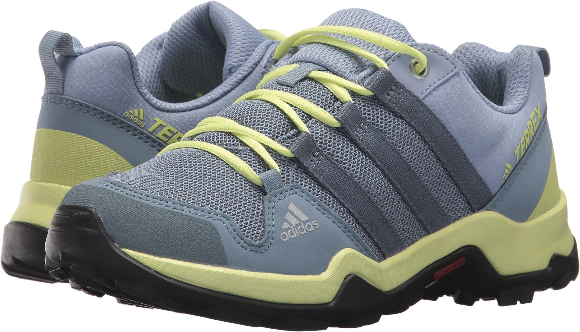 adidas outdoor Unisex Terrex AX2R K Grey/RAW Steel/SEMI Frozen Yellow, 12K Medium Youth US Little Kid