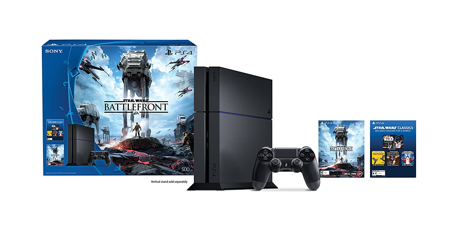 PlayStation 4 500GB Console - Star Wars Battlefront Bundle[Discontinued]